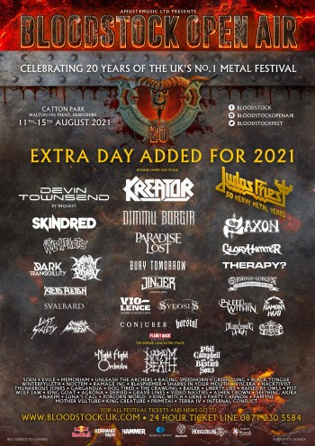 BLOODSTOCK - More Bands Announced (Festival News)