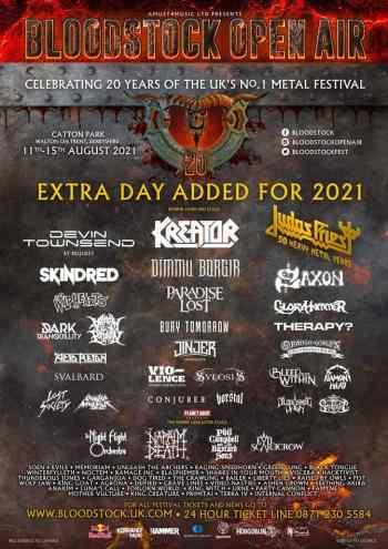 BLOODSTOCK 19 (Nineteen) New Bands (Festival News)
