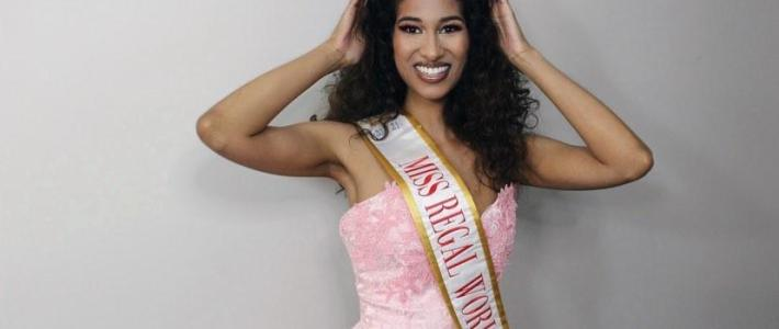 Canadian-Guyanese is the first Miss Regal World Title Winner 2020/2021