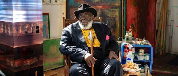 Frank Bowling: 'I want to make the best painting in the world ever'