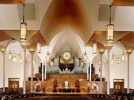 Greenville First Presbyterian Church, Interior