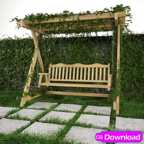 Download Swing for garden, grass and wall Free