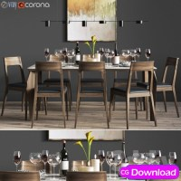 Download  Dinning set Free