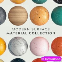 Download  Greyscalegorilla GSG Modern Surface Material Collection Maps Free