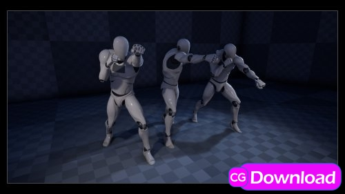 Download  Unreal Engine – Punch! Animation Pack Free