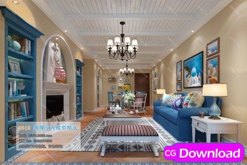 Download  Modern Style Livingroom 351 (2019) Free