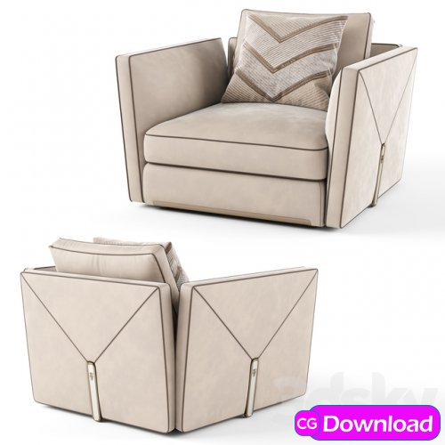 Download  Visionnaire Bastian Armchair Free