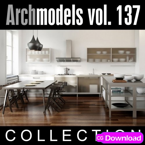 Download  Evermotion – Archmodels Vol. 137 Free