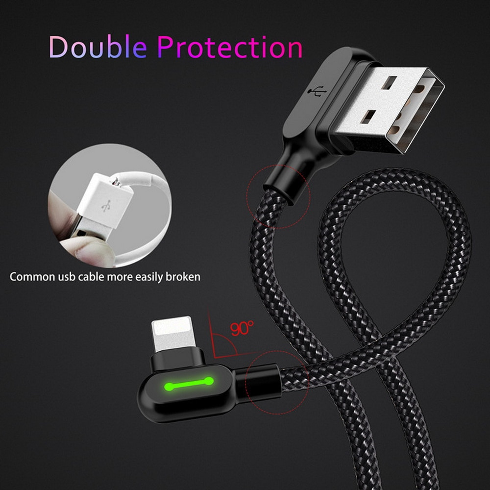 Fast Charging iPhone USB Cable 3