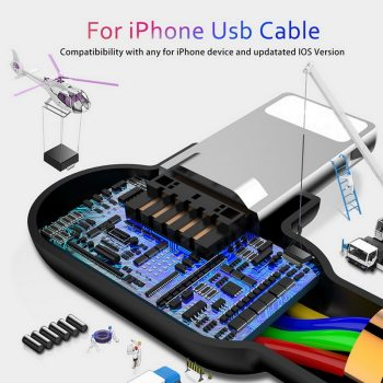 Fast Charging iPhone USB Cable 7