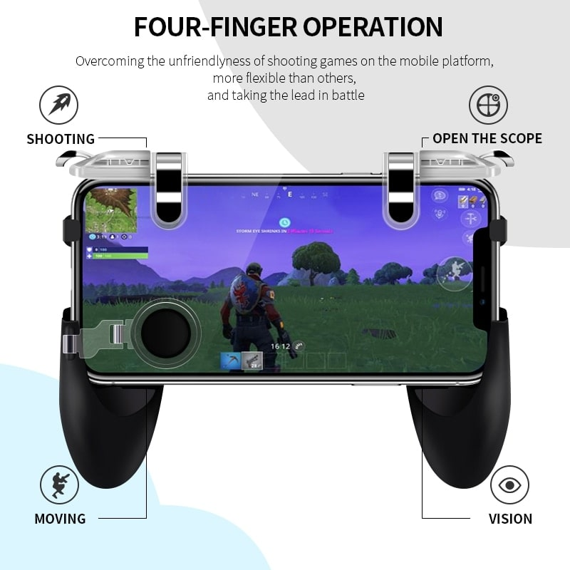 Integrated Handheld Mobile Game Controller 4
