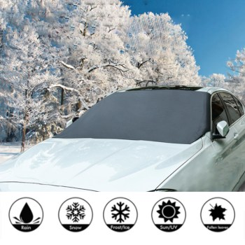 Windshield Snow Cover Sunshade Magnetic Universal 7
