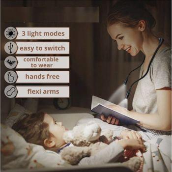 Flexible Neck Reading Light 7