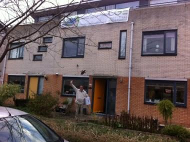 Tevredenklant in Almere Filmwijk