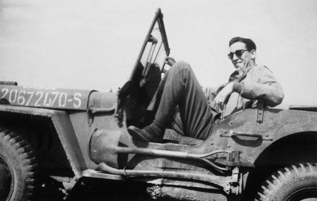 J.D. Salinger after the Normandy invasion