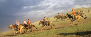 Mongolia Horse Racing