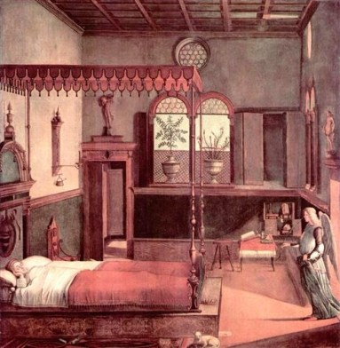 carpaccio painting st ursula dream