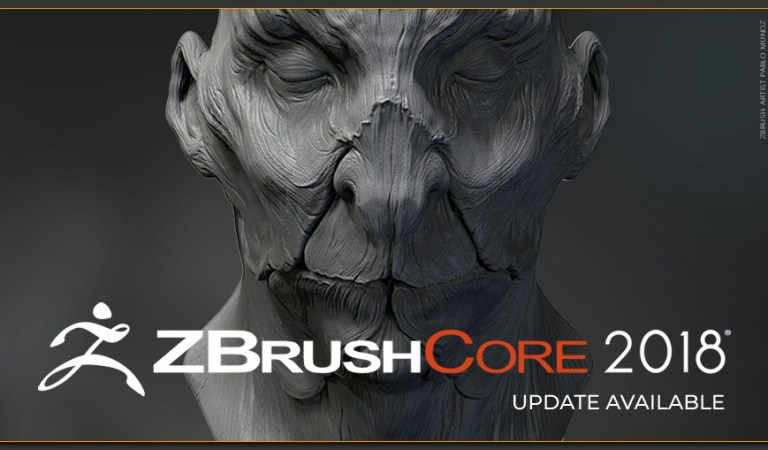ZBrushCore 2018 – Upgrade Today