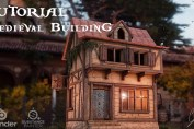 TUTORIAL - How to create a Medieval Building using Blender and Substance Painter