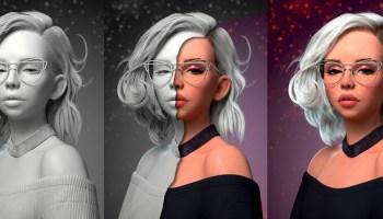 S W I R L Y 3D by Crystal Bretz