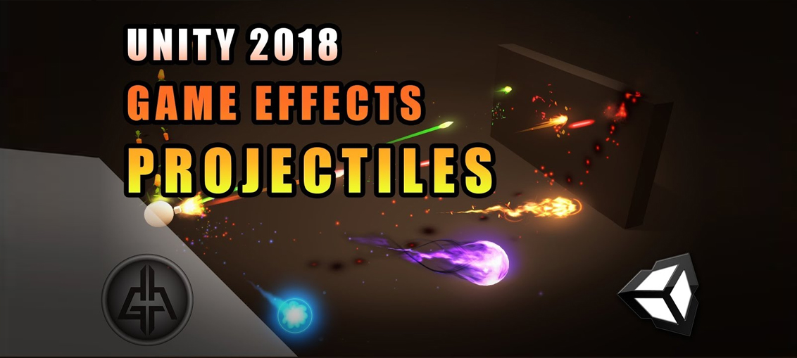 Unity 2018 - Game VFX - Projectile/Bullet Raycast Tutorial