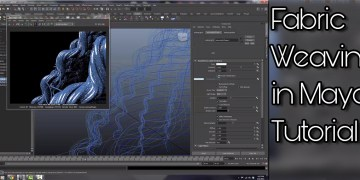 Fabric Weaving In Maya Tutorial By Evan Patrick