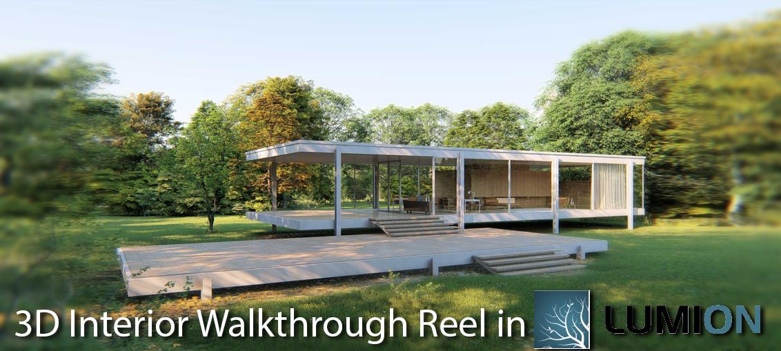 3D Interior Walkthrough Reel in Lumion