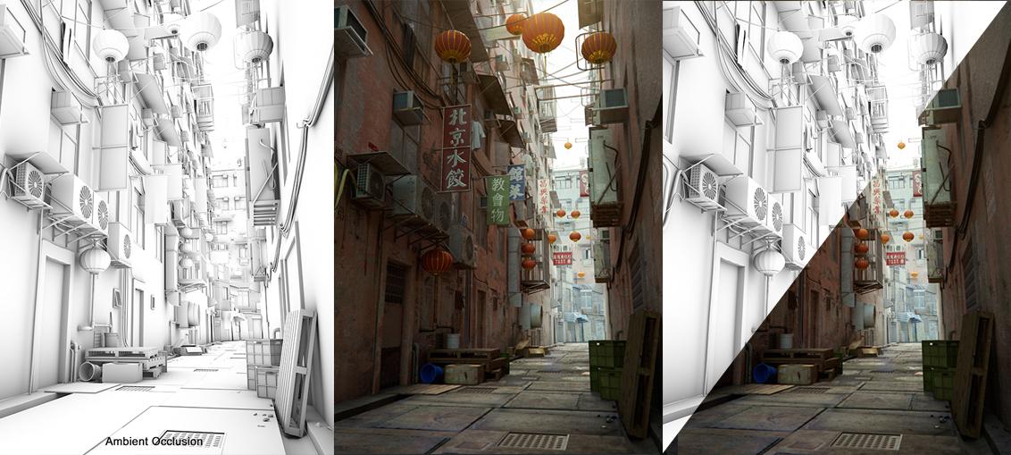 Creating detailed urban scenes