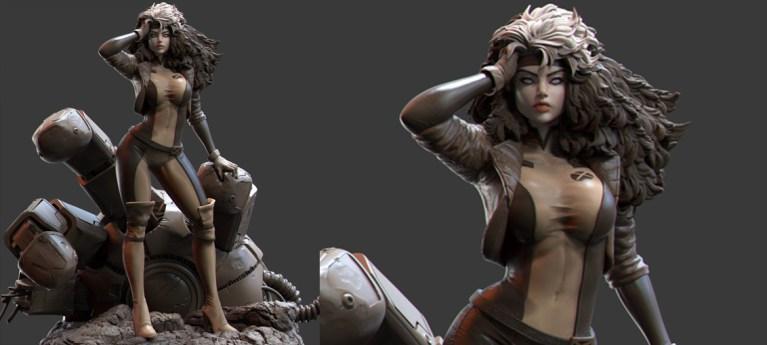 Rogue X-men by mars