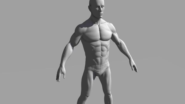 Bodybuilder Character Sculpting in Mudbox | CGHOW