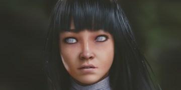 Byakugan Princess | Hinata Hyuga | Naruto by Evan Gintsiak