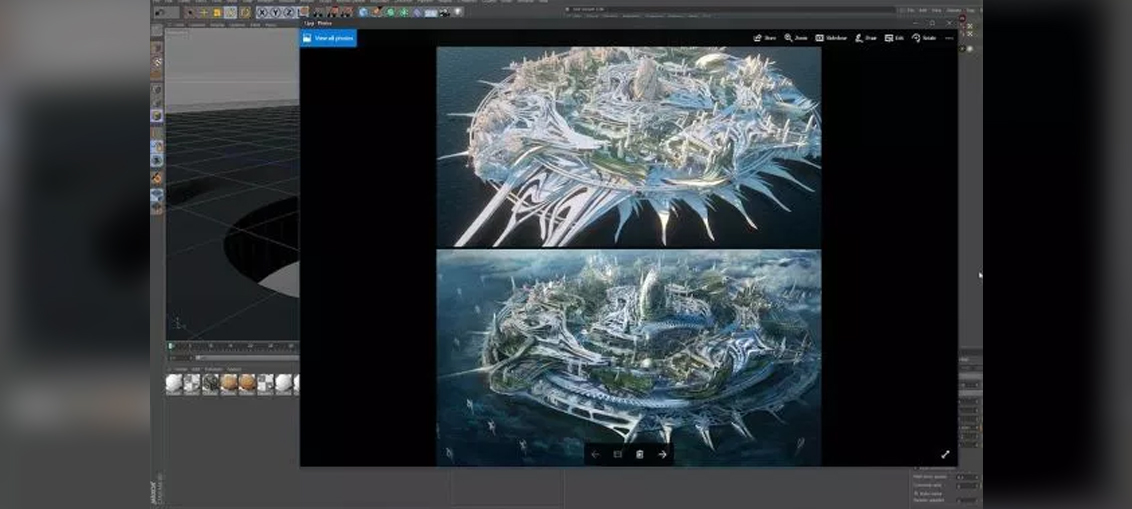 Cinema 4D and MoGraph for Concept Illustration   CGHOW