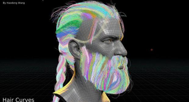 Generating Houdini Hair from Game Hair Geometry