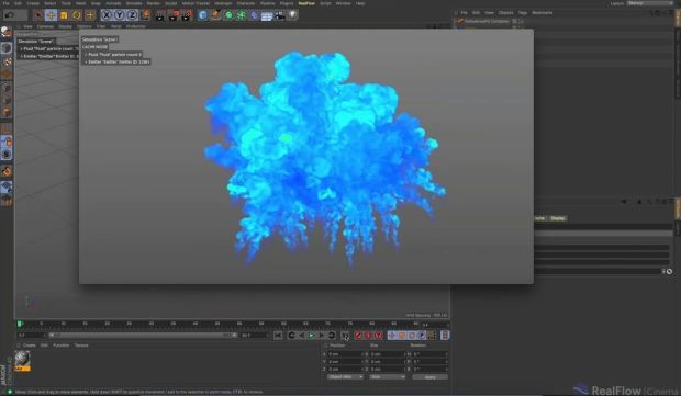 Get Things Rolling with RealFlow and Cinema 4D 2.5