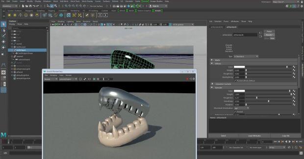 Intro to 3D VFX: Maya