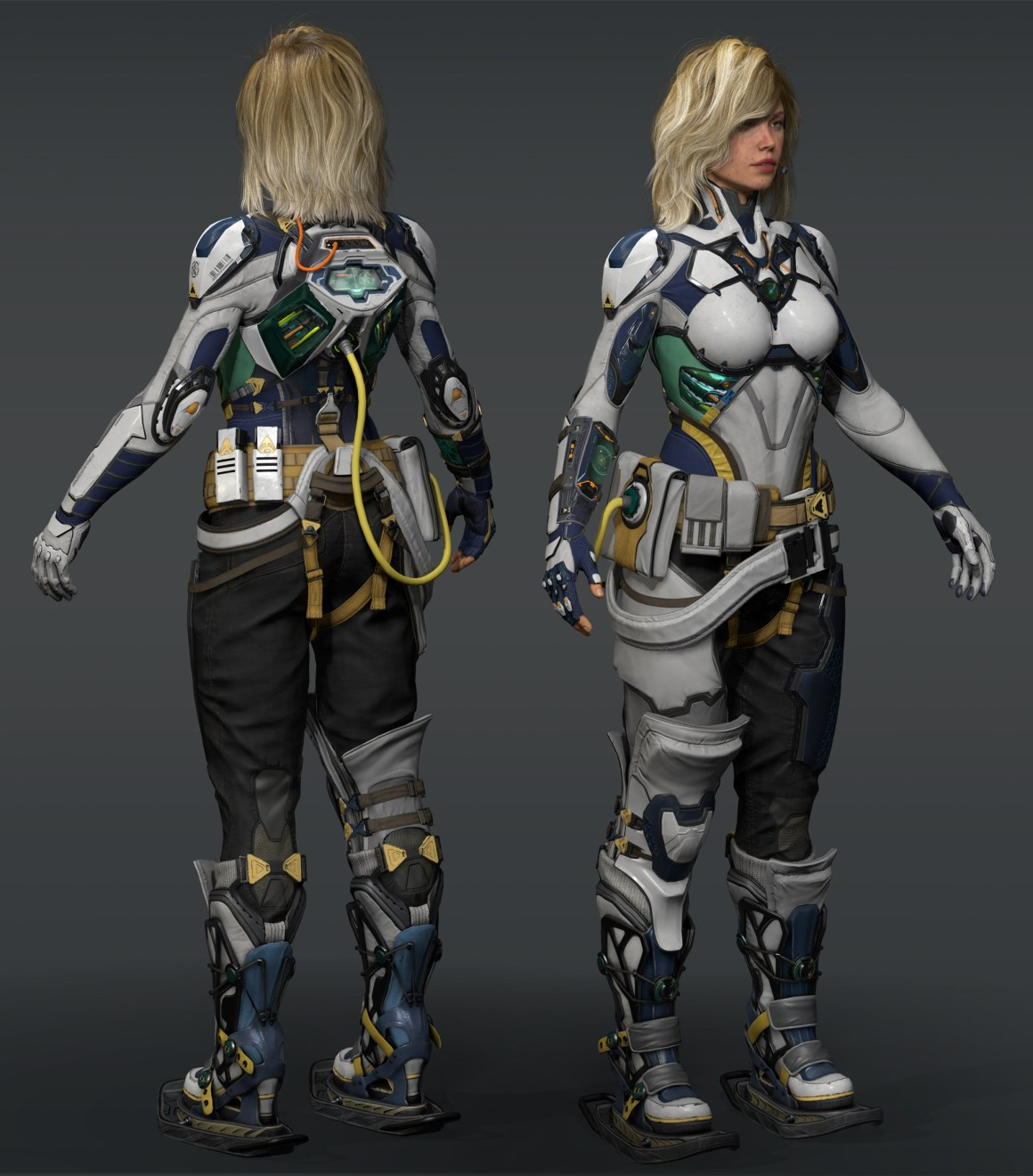 MRZ Exploration Soldier by Adale Rene