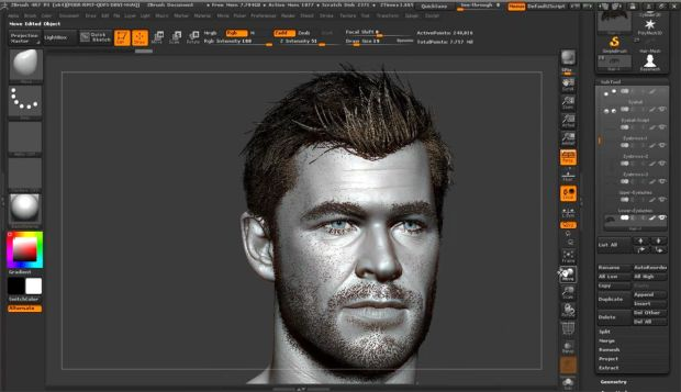 Master The Human Face in Zbrush