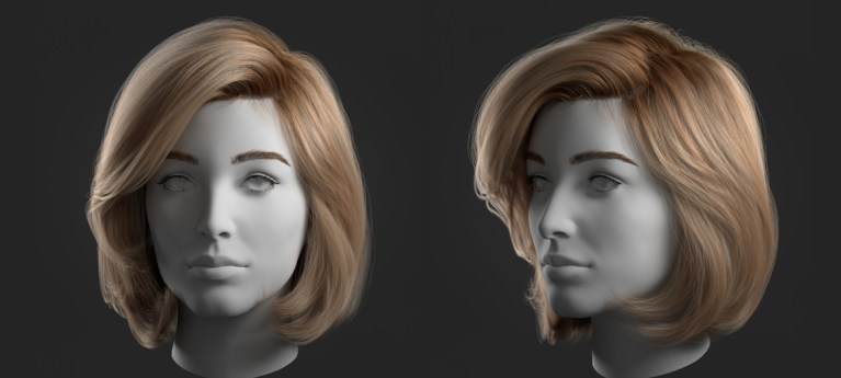 Ornatrix Girl Hair Test by Alexia Rubod