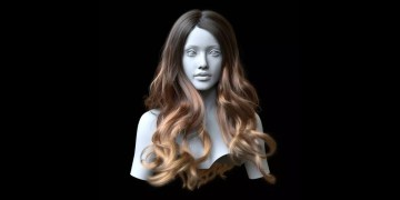Ornatrix Maya: Hair Guides Sculpting Time-Lapse