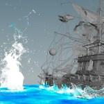 Pirate Ship FX in Houdini