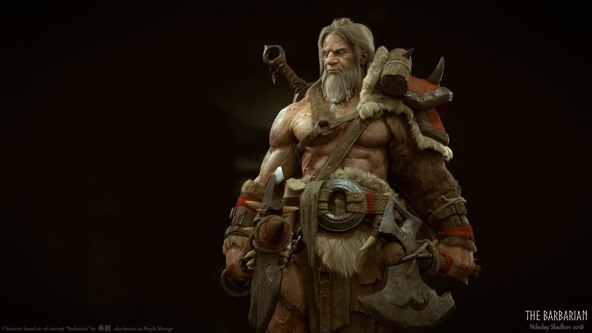 The Barbarian by Nikolay Sladkov