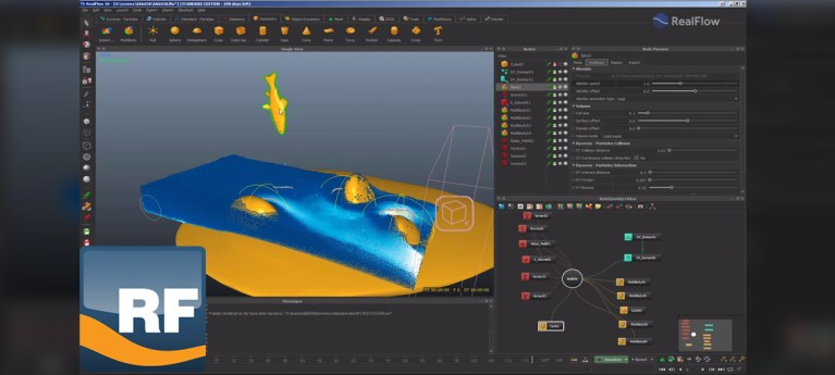 Working with Alembic Files in Realflow 10