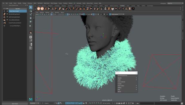 ZBrush Fibermesh to Maya Ornatrix Hair | CGHOW