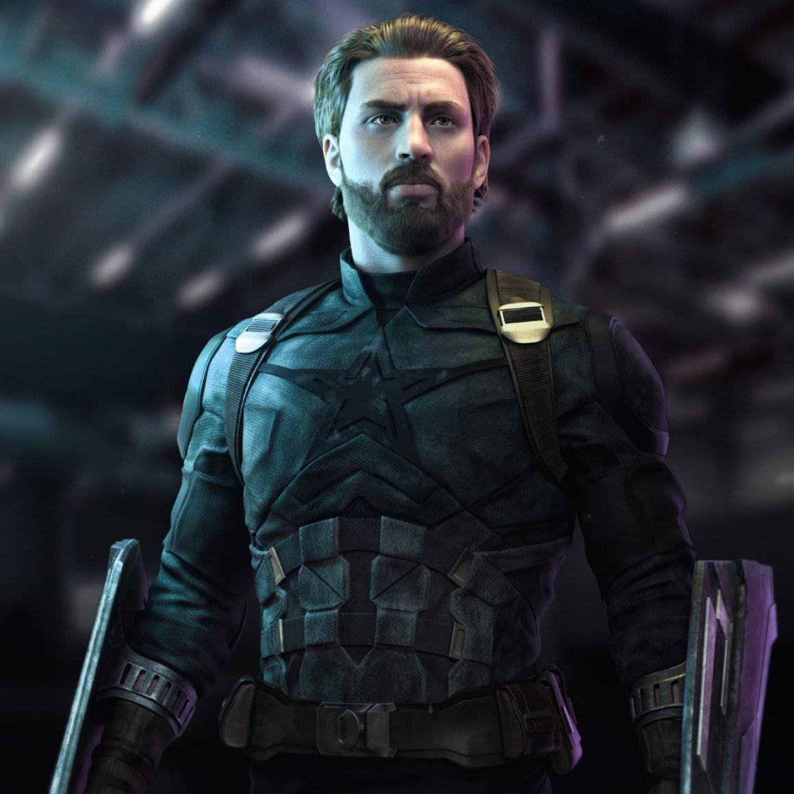 Captain America - Infinity war by Vladimir Minguillo