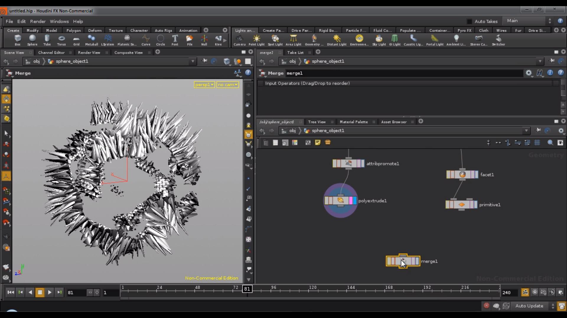 Disintegrating in Houdini tutorial by Rohan Dalvi | CGHOW