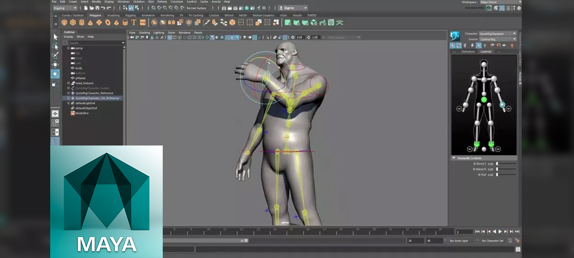 Maya MASH combined with BIFROST tutorial 2018 ref t