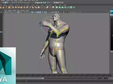 Quick Rigging and Skinning a Character in Maya 2017