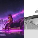 Racer Girls by Daniel Solovev