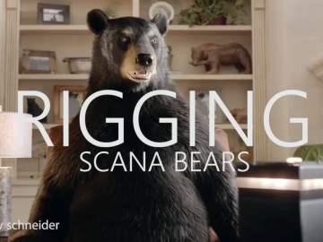 SCANA Energy – Bear Cave VFX Breakdown