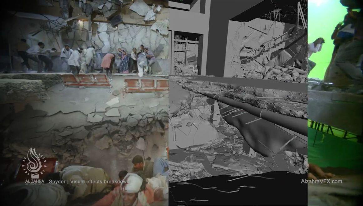 Spyder VFX Breakdown